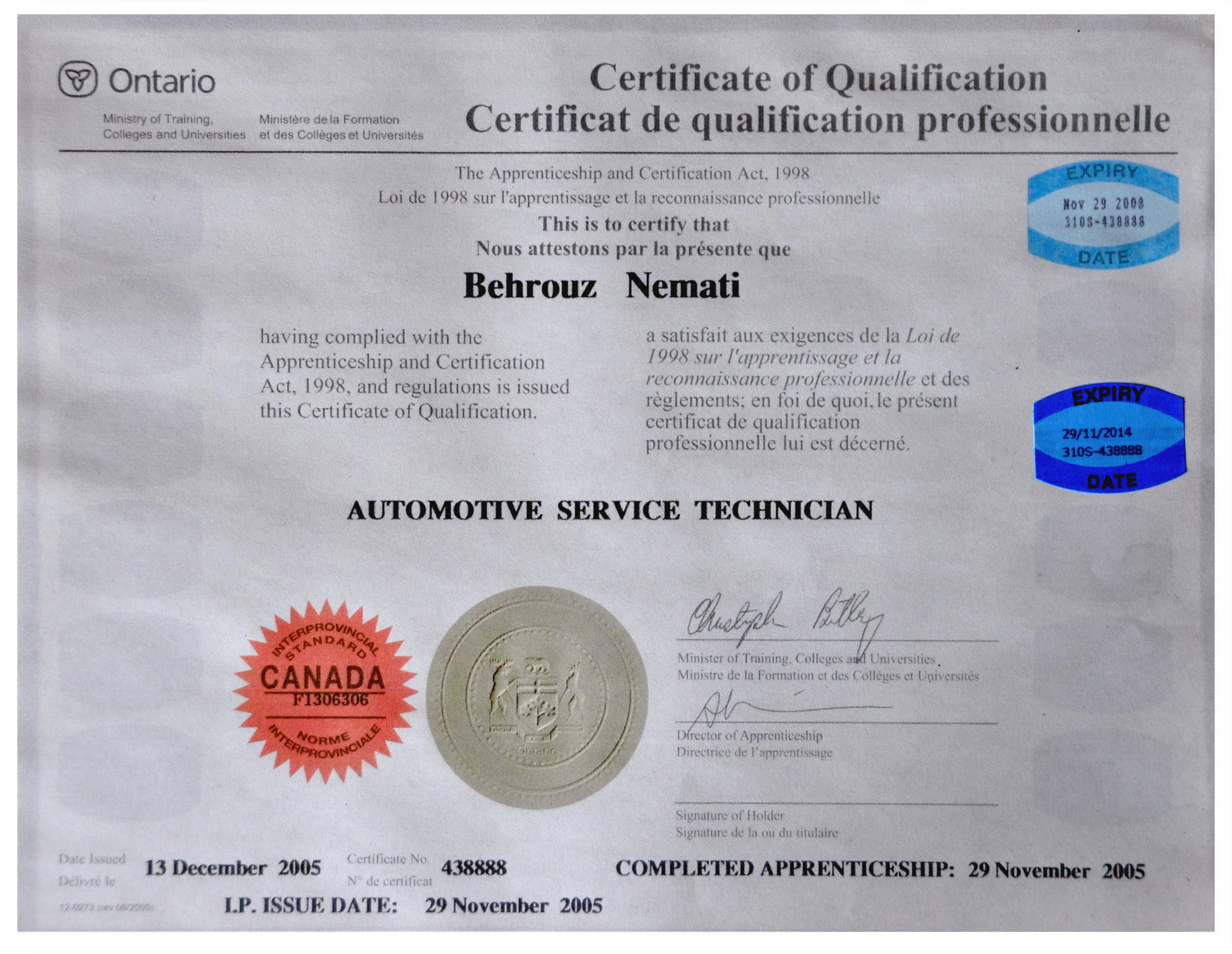 Motor mechanic licence impremedia motor mechanic licence at tehran auto repairs we are a motor vehicle inspection station 1betcityfo Image collections